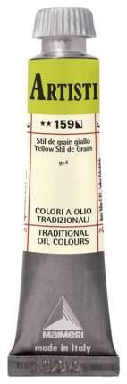 Масляная краска Maimeri Artisti M0102159 стил де грэн желтый 20 мл