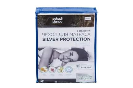 Чехол для матраса натяжной estudi blanco Silver Protection 80х200 см