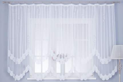 Тюль для кухни на ленте Hoff 11С6495