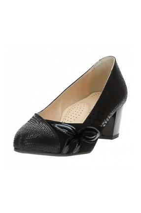 Туфли женские Shoobootique 686-4507-W2-CZZAMSZ-CZLAK-TN черные 38