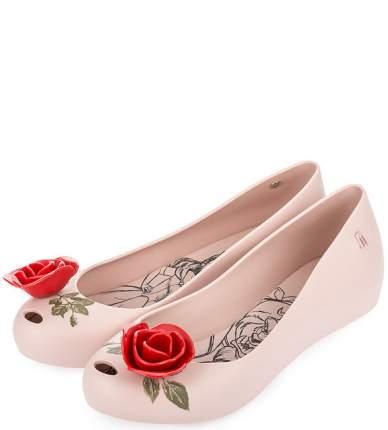 Балетки женские Melissa 32189-51338 розовые 40