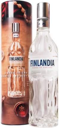 Водка  Finlandia  metal tube 0.7 л