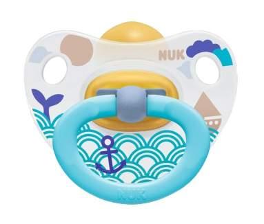 Соска-пустышка латексная успокаивающая Happy Kids р-р 1 Nuk