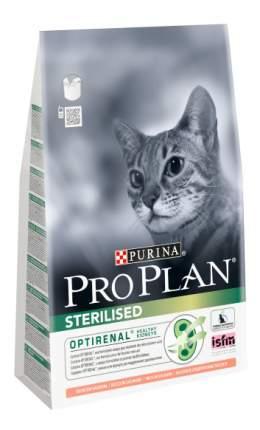 Сухой корм для кошек PRO PLAN Sterilised, для стерилизованных, лосось, 1,5кг