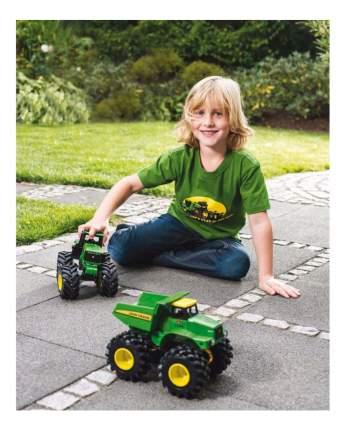 Трактор Tomy John Deere с большими колесами, подсветкой и звуком