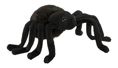 Мягкая игрушка Hansa Тарантул Черный 19 см