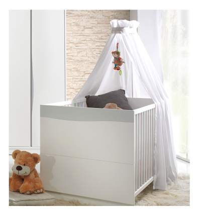 """Детская кровать Geuther """"Wave"""" белая/пастель"""