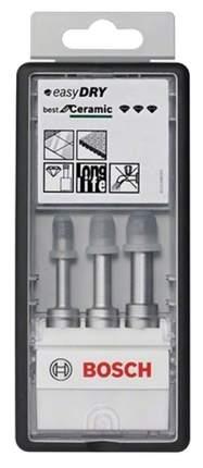Набор алмазных сверл Bosch easyDRY ROBUST LINE 2608587145