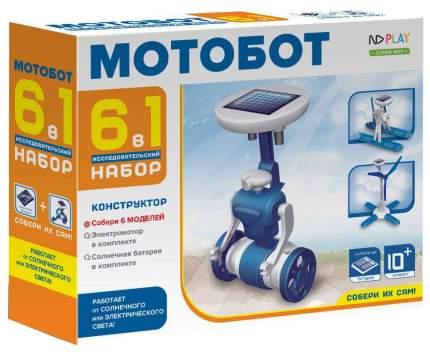 Конструктор пластиковый ND PLAY Мотобот 2111