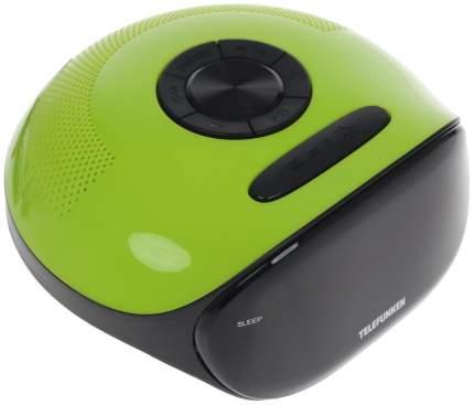 Радио-часы Telefunken TF-1574 Зеленый