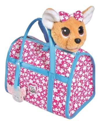 Мягкая игрушка Simba плюшевая Собачка Звездный стиль с сумочкой светится в темноте