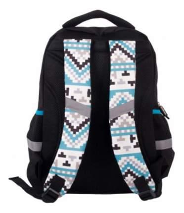 Рюкзак Gulliver школьный с пикси-дотами (черный)