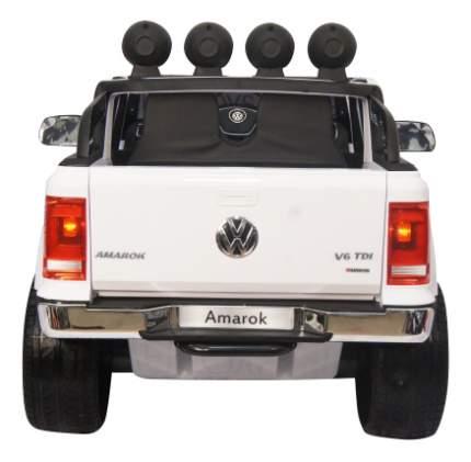 Электромобиль Volkswagen Amarok белый RIVERTOYS