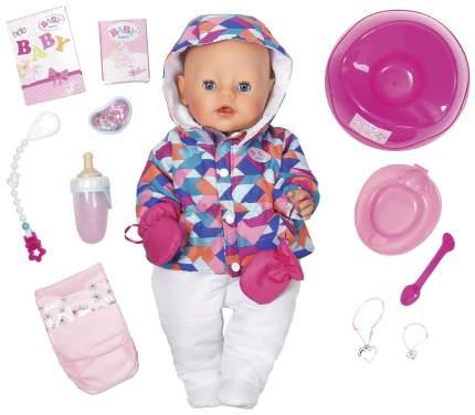 Кукла Zapf Creation Baby Born в зимней одежде 43 см 823-200 825-273