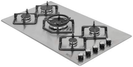 Встраиваемая варочная панель газовая RICCI RGN-КА5041 IX Silver