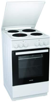 Электрическая плита Gorenje E5121WH-B White