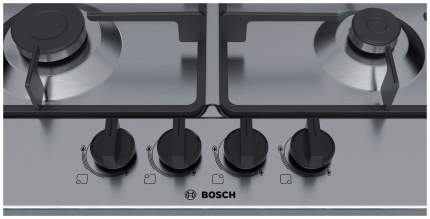 Встраиваемая варочная панель газовая Bosch PGP6B5B90R Silver