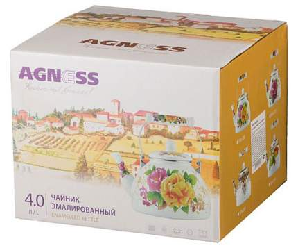 Чайник для плиты Agness 934-323 4 л