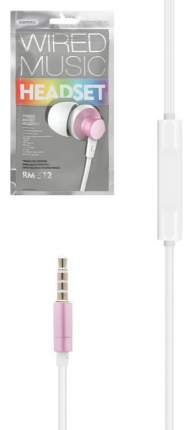 Наушники Remax RM-512 Pink