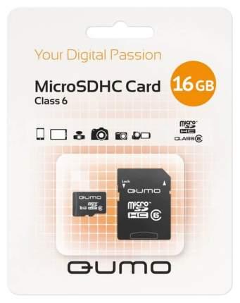 Карта памяти QUMO Micro SDHC QM16GMICSDHC6 16GB