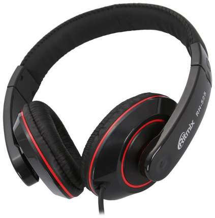 Наушники Ritmix RH-525 Red/Black