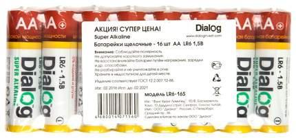 Батарейка Dialog Super Alkaline LR6-16S 16 шт