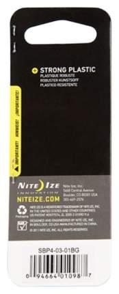 Карабин пластиковый Nite Ize S-Biner #4 SBP4-03-01BG Black