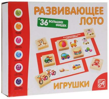Семейная игра Анданте Лото Игрушки Д464а