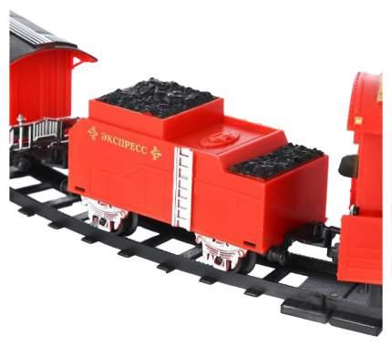 Железная дорога Play Smart 0638 Железная дорога 1889 с дымом свет звук 380 см