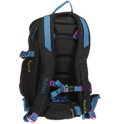 Рюкзак для лыж и сноуборда Dakine Women's Heli Pro DLX, black, 18 л