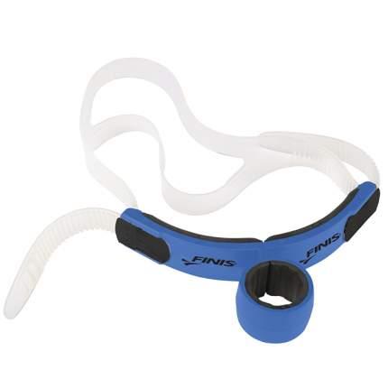 Трубка для плавания Finis Glide Snorkel 1.05.002 голубая (Ocean Blue)