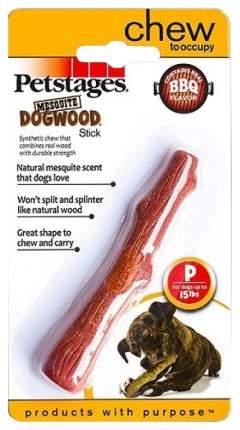 Жевательная игрушка для собак Petstages Mesquite Dogwood Палочка с ароматом барбекю, 13 см