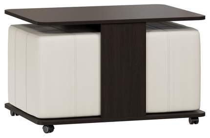 Журнальный стол Трия 50х80х60 см, коричневый