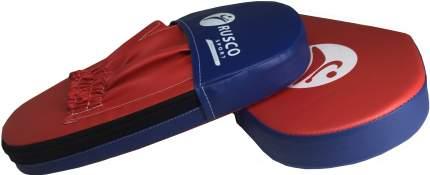 Боксерские лапы Rusco Sport красно-синие