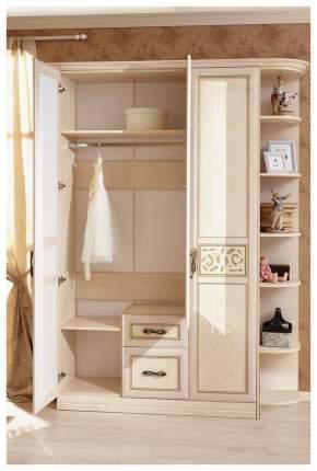 Платяной шкаф Любимый Дом LD_43038 132х46х226, кожа ленто рустика