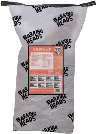 Сухой корм для собак Barking Heads Adult Pooched Salmon, лосось и картофель, 18кг