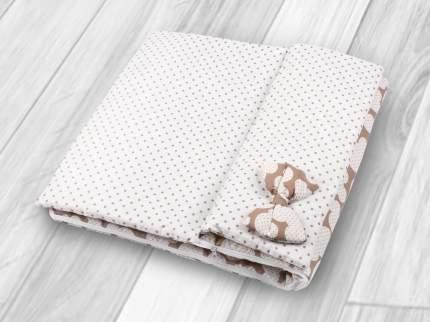 Спальный мешок детский Amarobaby Magic Sleep 100х47 Мышонок кофе