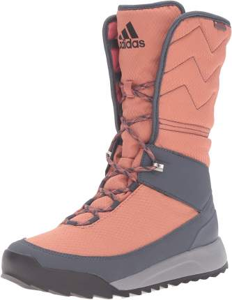Ботинки Adidas Choleah High, rawpin/core black/utiblu, 35 EU