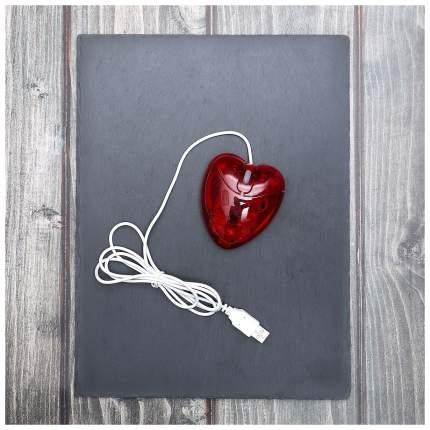 Проводная мышка China bluesky trading co Сердце Red (92866)