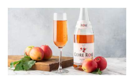 Сидр яблочный сухой Фурнье Розе 0.75 л
