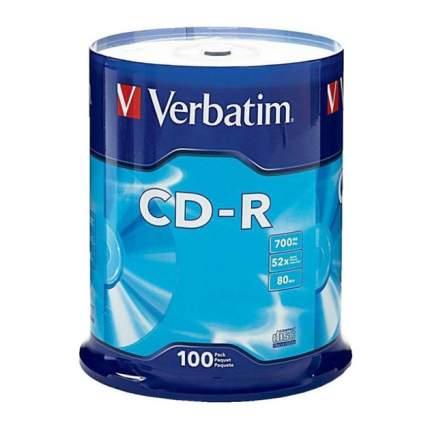Диск CD-R Verbatim 700Mb 52x (100 шт) (43411)