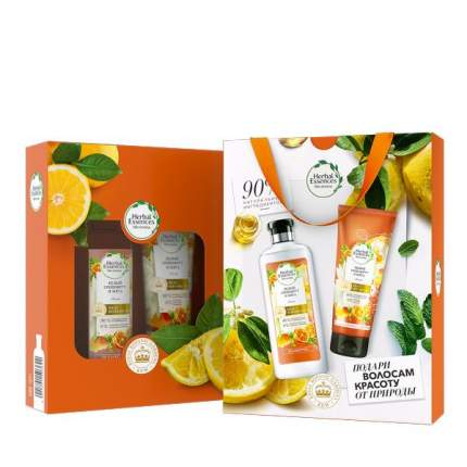 Подарочный набор Herbal Essences Шампунь 400мл+Бальзам Белый грейпфрут и мята 180мл