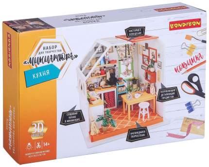 Миниатюра интерьерная 3D Bondibon «Румбокс. Кухня» ВВ3335-GW
