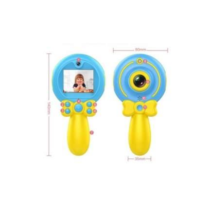 Детский фотоаппарат Lemon Tree Волшебная палочка X3 голубой