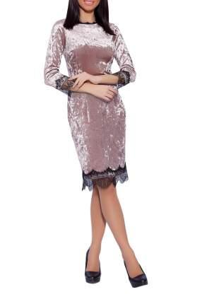 Платье женское EMANSIPE 3516714 бежевое 52 RU