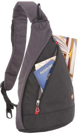 Рюкзак Swissgear Mono Sling серый/черный 6 л