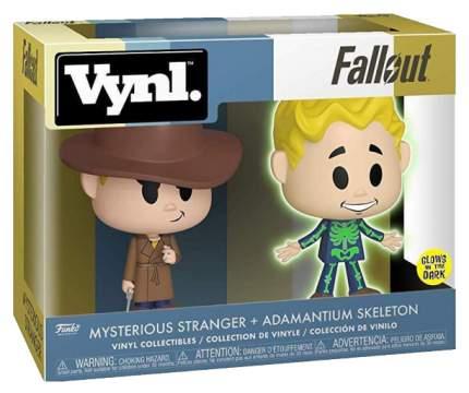Набор фигурок Funko VYNL Games: Fallout: Mysterious Stranger and Adamantium Skeleton