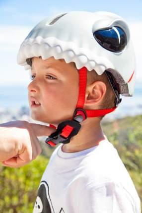 Шлем защитный детский Crazy Safety 2017 White Shark белая