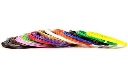 Набор пластика 3DMPlast ABS для 3D ручек 15 ов по 10 метров ABS15/10