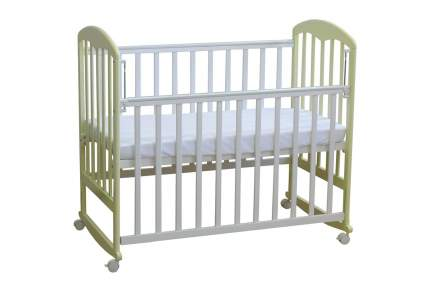 Кровать-качалка детская Фея 323 Белая-Ваниль